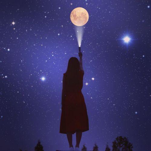 【1/28は、今年初の新月!】本当に叶う、新月への願い事【新月デクラレーション】のサムネイル画像