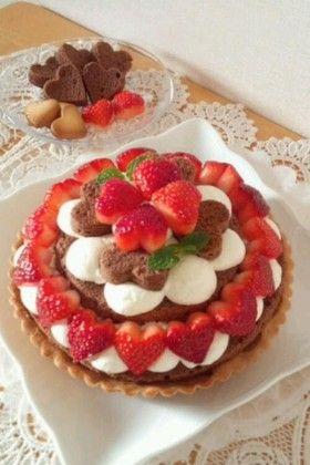 バレンタインパーティーにもぴったり★ケーキレシピアイディア集のサムネイル画像