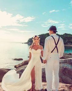 開放的な雰囲気で♡夏の結婚式、【サマリッジ】がおしゃれすぎる♡のサムネイル画像