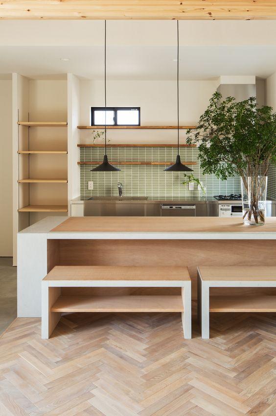 「女性の城」キッチンのアイディア収納、便利なキッチン家具☆のサムネイル画像