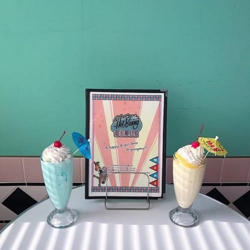まるで50年代♡【Hot Bunny Diner】がレトロ可愛いのサムネイル画像