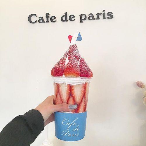 韓国で味わう贅沢パフェ♡【Cafe de paris】が話題!のサムネイル画像