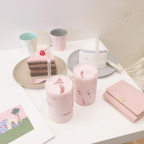 魔法のパステルケーキ♡カフェ【banana haruki】@韓国のサムネイル画像