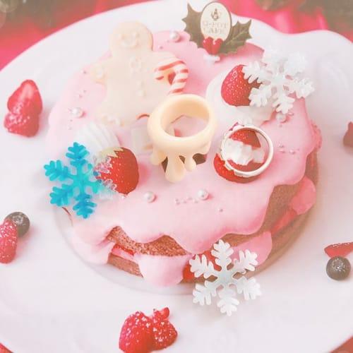 お菓子の家のクリスマス!【Q-pot CAFE.】限定スイーツ♡のサムネイル画像