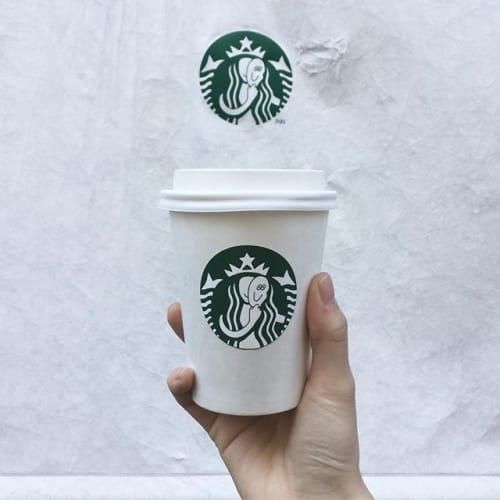 コーヒーチェーン風が可愛い! 【INNの期間限定カップ】に注目♡のサムネイル画像