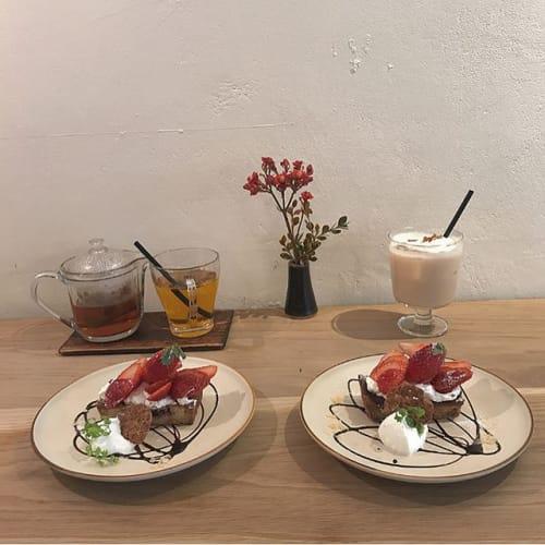 【カフェ不毛地帯】新宿でミッケ! おしゃカワ〜な穴場カフェ3選♡のサムネイル画像
