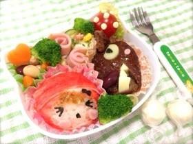 幼稚園のお弁当にぴったり!絵本のキャラクターのキャラ弁の作り方のサムネイル画像