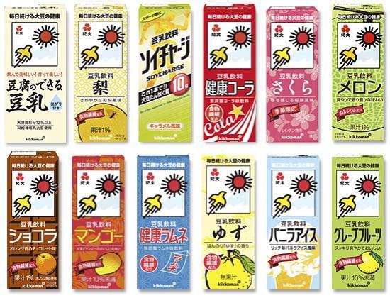 今までに発売された紀文の豆乳にはどんなフレーバーがあるの!?のサムネイル画像