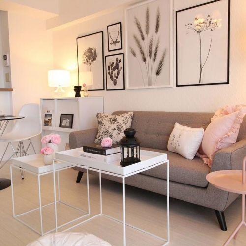 2017年インテリアトレンド 【やわらかモノトーン】1万円台以下の家具で実現♪のサムネイル画像