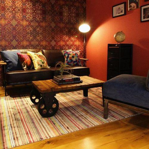 【5分で雰囲気チェンジ!】クッションカバーで☆お部屋のテイスト大変身のサムネイル画像