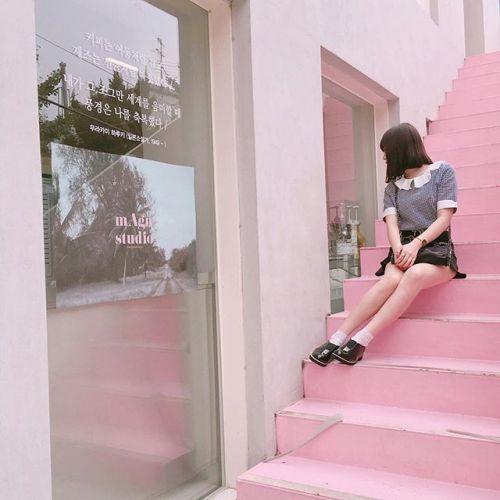 インスタ映え間違いなし!ソウルの【最新ピンクカフェ3選】♡のサムネイル画像