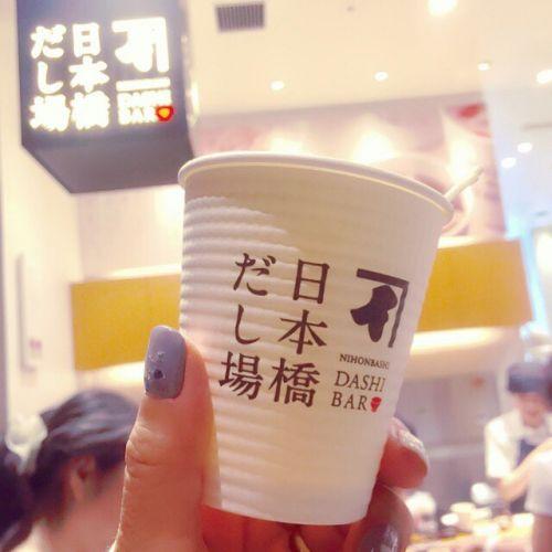 フラペチーノよりも「だし」を飲もう♡だし専門店【日本橋だし場】のサムネイル画像