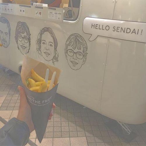 みんな虜になる♡フライドポテト専門店【アンド・ザ・フリット】のサムネイル画像