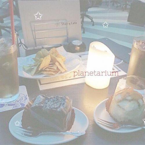 穴場なデートスポット!プラネタリウムスターリーカフェに潜入♡のサムネイル画像