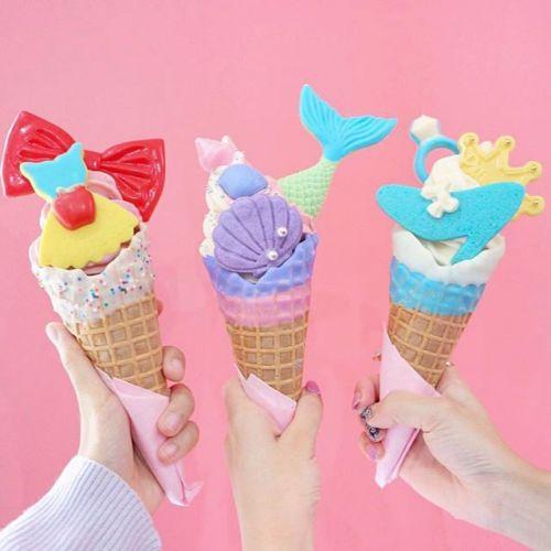 世界一可愛い!?【○○○】がテーマのアイスクリームがやばい♡のサムネイル画像