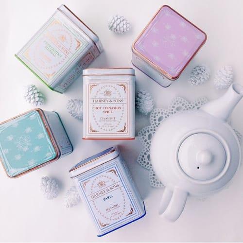 ホットな紅茶で素敵なホリデー♡【harney&sons】の魅力!のサムネイル画像