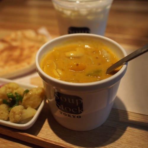 冬はあったかスープをどうぞ♡気軽の立ち寄れる【スープ専門店】のサムネイル画像