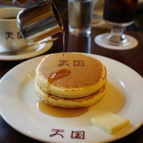 昇天しちゃうことまちがいなし♪《珈琲天国》のホットケーキに悶絶♡のサムネイル画像