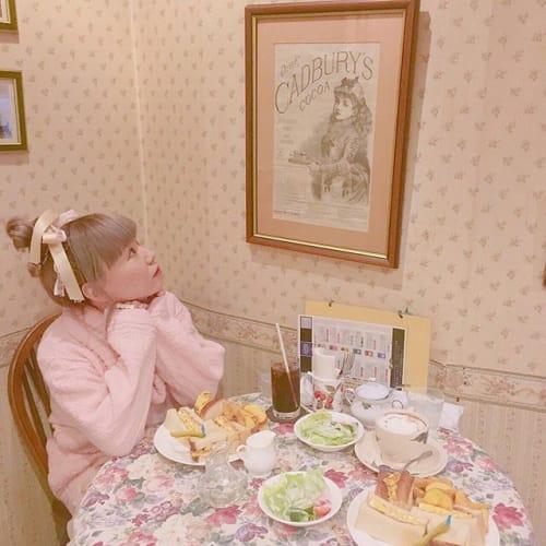 大阪でプリンセス気分になれる⁉︎ 【英国風おしゃれカフェ】♡のサムネイル画像