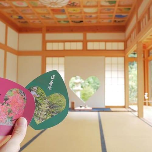 乙女心をギュッつかむ♡【♯幸せを呼ぶ窓】がある京都の正寿院に注目のサムネイル画像