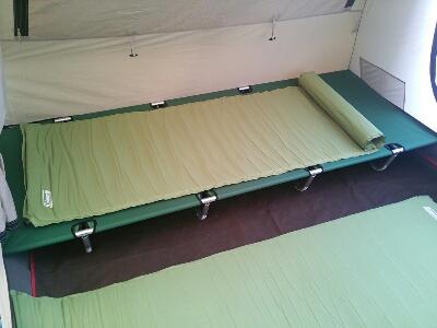【キャンプの必需品】これはイイ!野外でも安眠♪キャンプベッド特集のサムネイル画像