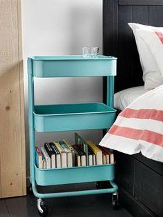 IKEAのキッチンワゴンならアイデア次第でアレンジ自由自在!のサムネイル画像