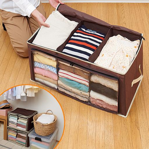洋服が散乱して困っている方必見!衣類収納術を画像で紹介!のサムネイル画像