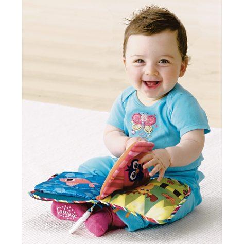 触って楽しい♪見て楽しい♪おすすめの布絵本で乳児から英語教育☆のサムネイル画像