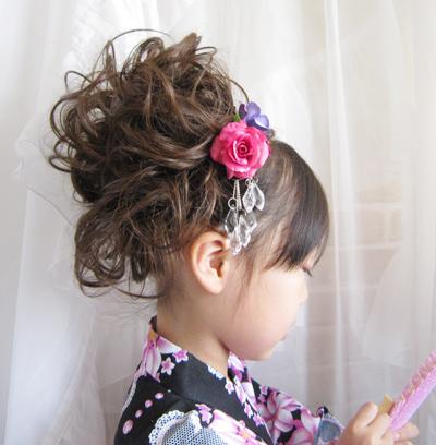必見!可愛い子供の髪飾り!普段の髪飾りと行事の時の髪飾りについてのサムネイル画像