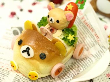 【画像まとめ】リラックマのかわいい料理!食べるのがもったいない!のサムネイル画像