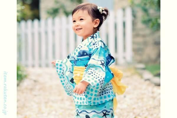 着物派?ドレス派?可愛いすぎて迷ってしまう子供の浴衣選びのご紹介のサムネイル画像