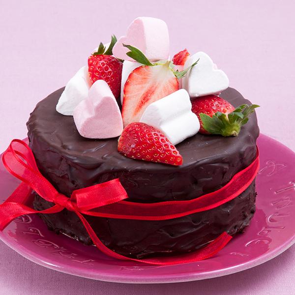バレンタインに甘いもの好きな彼にあげたいチョコケーキレシピのサムネイル画像